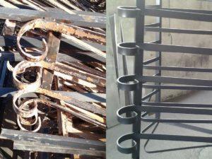 sverniciatura termica e chimica metalli