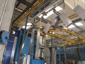 verniciatura macchine industriali