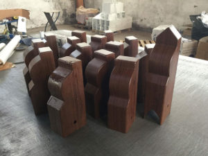 effetto legno su acciaio